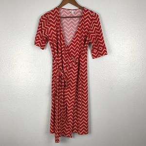A PEA IN THE POD Maternity Wrap Dress Size SM